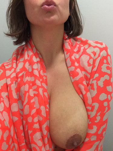 Busty Arab MILF Braless Shots